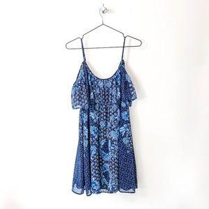 Blue Floral Dress   Juicy Couture